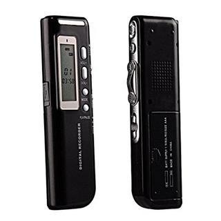 ★ ICレコーダー ボイスレコーダー 高音質 長時間録音 8GB ★(その他)