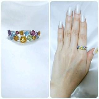 ポンテヴェキオ(PonteVecchio)のポンテヴェキオ 指輪 宝石 正規品 本物 ホワイト ゴールド wg gold(リング(指輪))