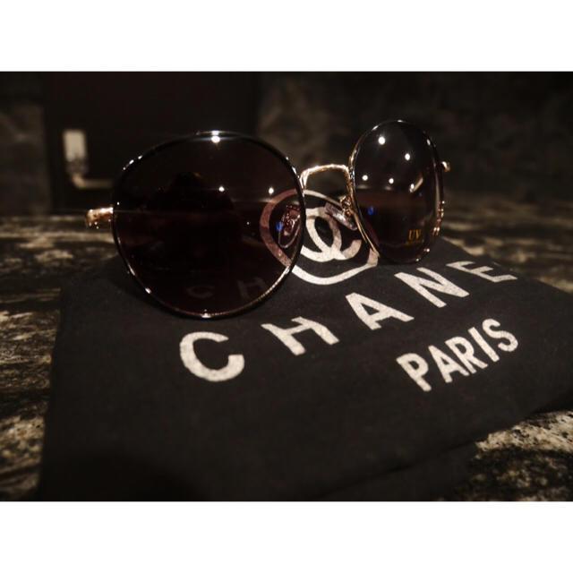 ボストンタイプ★メタルサングラス ゴールド/カーキ レディースのファッション小物(サングラス/メガネ)の商品写真