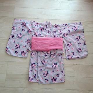 ベルメゾン(ベルメゾン)の子供セパレート浴衣110〜120&帯(甚平/浴衣)