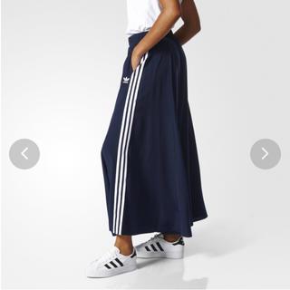 アディダス(adidas)のadidas オリジナルス スカート3STRIPES LONG SKIRT XS(ロングスカート)