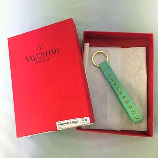 ヴァレンティノ(VALENTINO)の◆新品◆完売品 バレンチノ ロックスタッズキーホルダー ◆(キーホルダー)