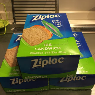 コストコ(コストコ)のジップロック サンドイッチ用(弁当用品)