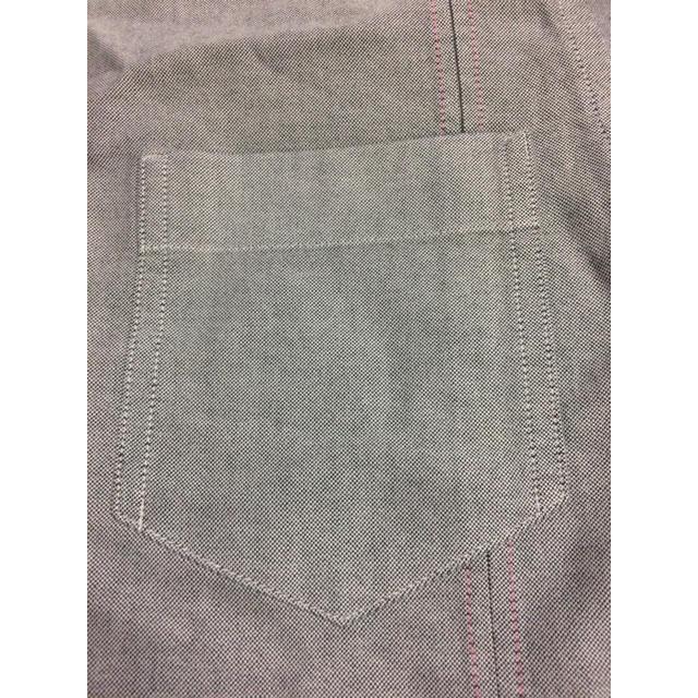 GAP(ギャップ)のGAPグレーコットンデザインシャツ メンズのトップス(シャツ)の商品写真