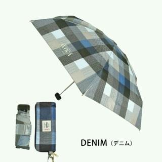 トゥモローランド(TOMORROWLAND)の新品 ☆ AVOCA 折り畳み傘 デニムカラー(傘)