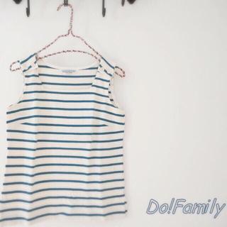 ドゥファミリー(DO!FAMILY)の*Do!Family ドゥファミリィのマリンテイストが可愛い♪ボーダーカットソー(カットソー(半袖/袖なし))