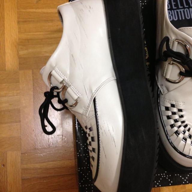 白ラバーソール レディースの靴/シューズ(レインブーツ/長靴)の商品写真