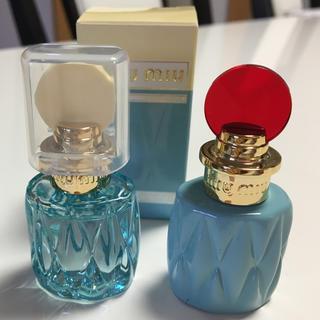 ミュウミュウ(miumiu)のmiu miu イエローのみ香水ミニボトル(香水(女性用))