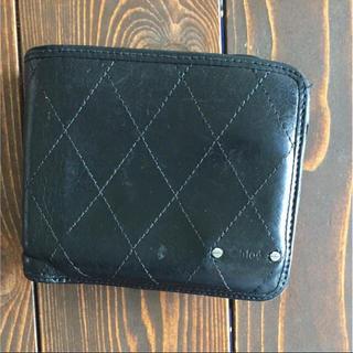 クロエ(Chloe)のクロエ 黒 折り財布 chloe(折り財布)