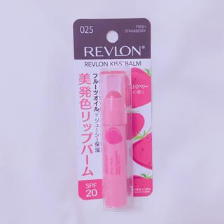 レブロン(REVLON)のレブロン キスバーム 025 ストロベリー(リップケア/リップクリーム)