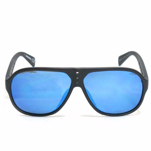 DIESEL(ディーゼル)のDIESEL DL9097-02X ミラーレンズ サングラス ディーゼル 黒 メンズのファッション小物(サングラス/メガネ)の商品写真