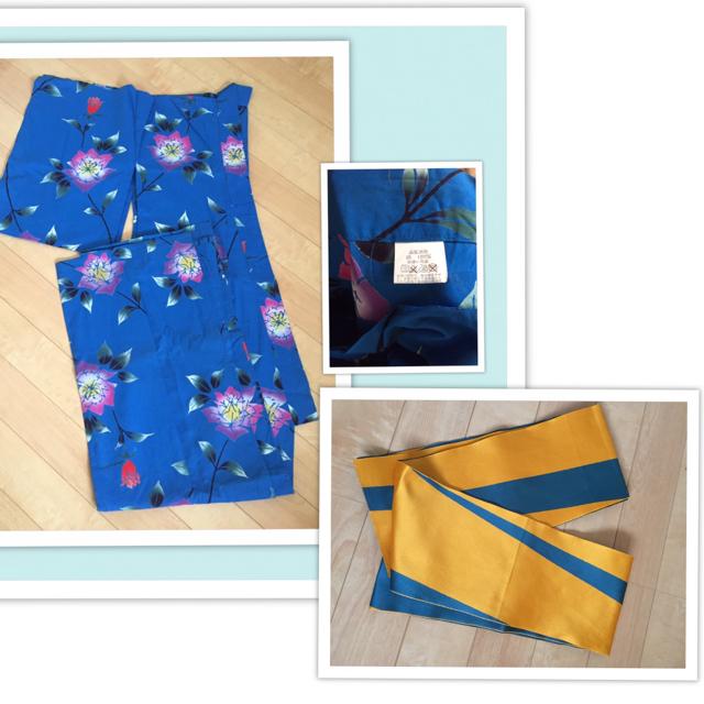 浴衣 帯 レディースの水着/浴衣(浴衣)の商品写真