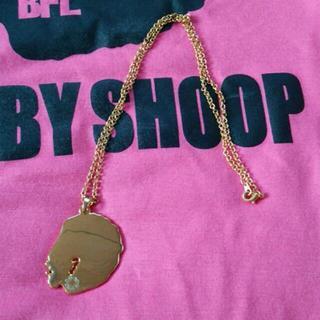 ベイビーシュープ(baby shoop)のbaby shoopゴールドネックレス(ネックレス)