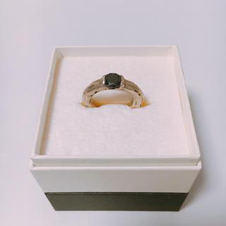 イーエムノアール(e.m. noir)のe.m.  ブラックジルコニア リング(リング(指輪))