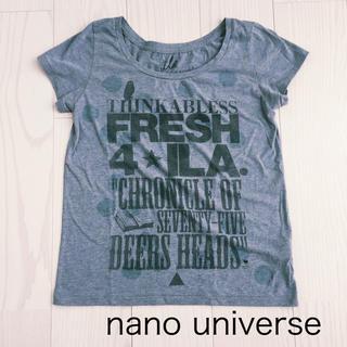 アイラ(ila)のナノ ユニバース ila アイラ Tシャツ(Tシャツ(半袖/袖なし))