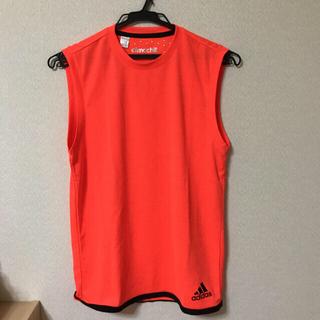 アディダス(adidas)のアディダス climachillメンズノースリーブシャツ(その他)