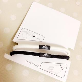 アディダス(adidas)の♡アディダス ヘアゴム×2 セット♡(ヘアゴム/シュシュ)