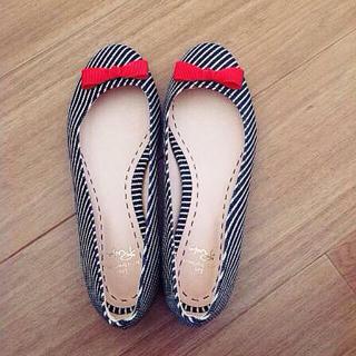 メゾンドリーファー(Maison de Reefur)のメゾンドリーファー☆バレエシューズ 23(ローファー/革靴)