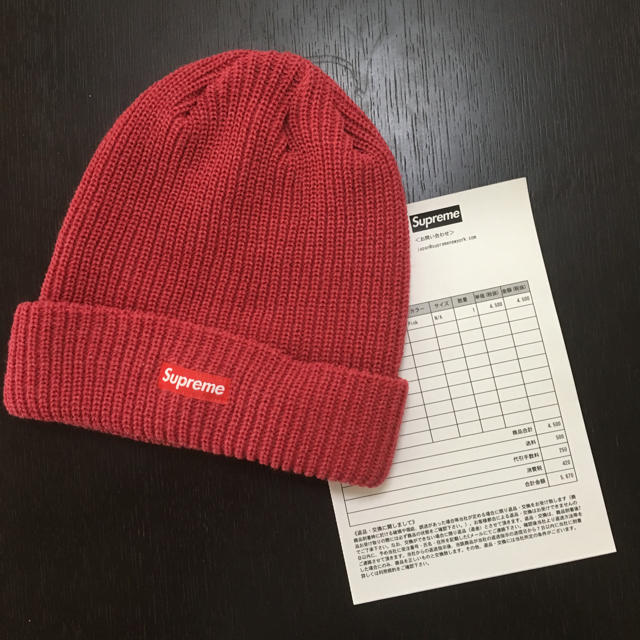 Supreme(シュプリーム)のsupreme Heather loose gauge beanie pink メンズの帽子(ニット cd5724d26185