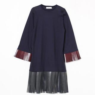 トーガ(TOGA)のTOGA PULLA  fringe jersey pullover(その他)