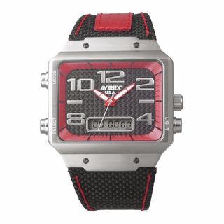 アヴィレックス(AVIREX)のAX-016M-4 アヴィレックス アナデジウオッチ ミリタリー メンズ(腕時計(アナログ))