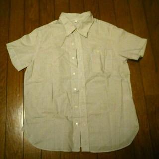 ムジルシリョウヒン(MUJI (無印良品))の無印☆コットンシャツ(シャツ/ブラウス(半袖/袖なし))