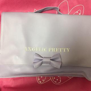 アンジェリックプリティー(Angelic Pretty)のAngelic Pretty 3wayバッグ ラベンダー mook本付録 新品(その他)