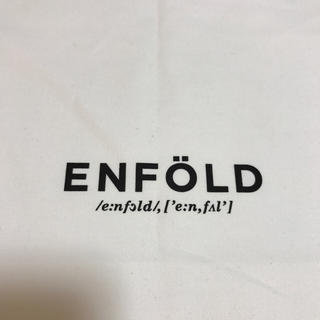 エンフォルド(ENFOLD)のENFOLD ショッピングバッグ ラージ(エコバッグ)