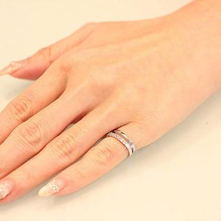 小指 新品 ピンキーリング♡czダイヤ♡指輪♡スナイデル、ジルスチュアート好き(リング(指輪))
