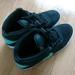 ナイキ(NIKE)のNIKE MAVRK MID 2 黒 緑 26.5cm(スニーカー)