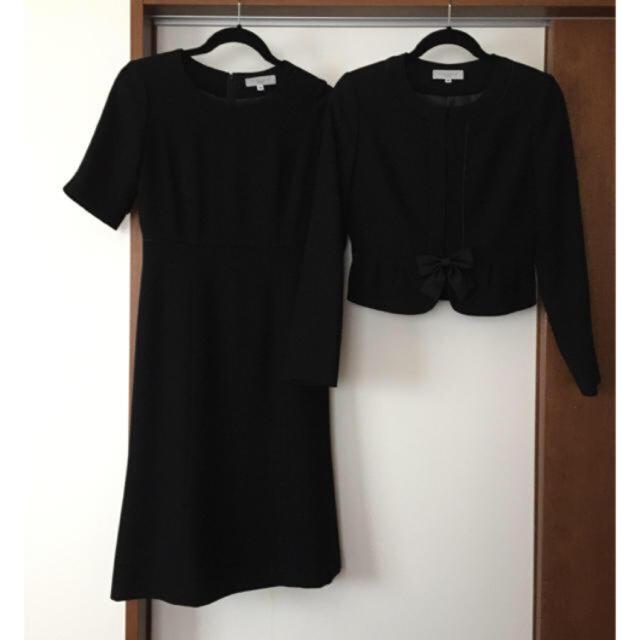 しまむら(シマムラ)の美品★セオリア ブラックフォーマル★しまむら 9号 レディースのフォーマル/ドレス(礼服/喪服)の商品写真
