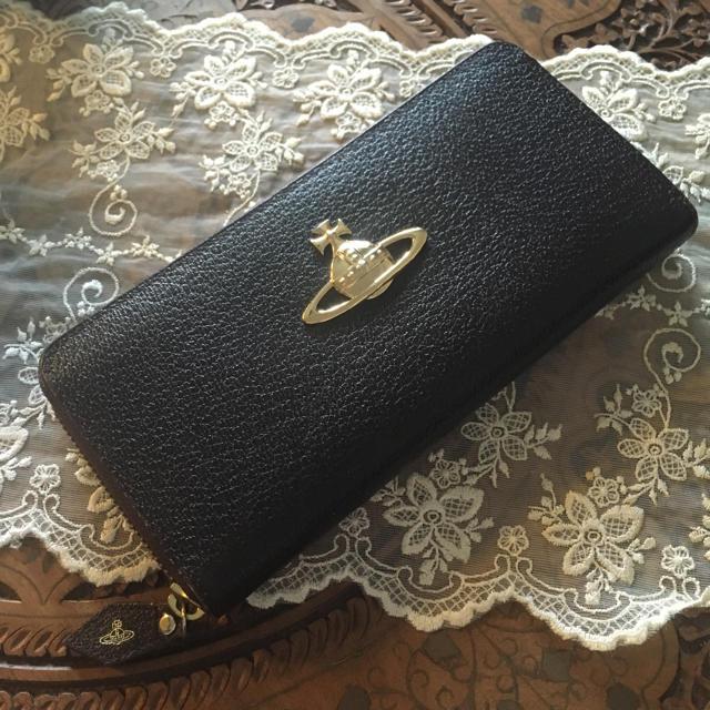 Vivienne Westwood(ヴィヴィアンウエストウッド)のVivienne Westwood EXECUTIVE ラウンドファスナー長財布 レディースのファッション小物(財布)の商品写真