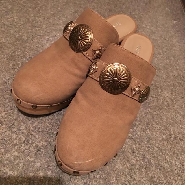 snidel(スナイデル)のスナイデル サボ レディースの靴/シューズ(サンダル)の商品写真