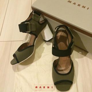 マルニ(Marni)のtak☆様ご決定※MARNI マルニ サンダル 36サイズ(サンダル)