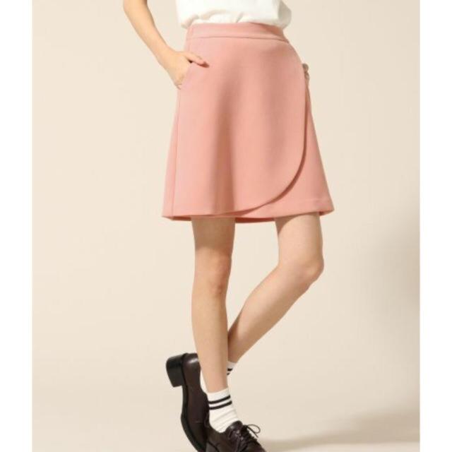 LOWRYS FARM(ローリーズファーム)のローリーズファーム 台形スカート ピンク レディースのスカート(ミニスカート)の商品写真