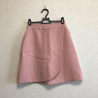 ローリーズファーム(LOWRYS FARM)のローリーズファーム 台形スカート ピンク(ミニスカート)
