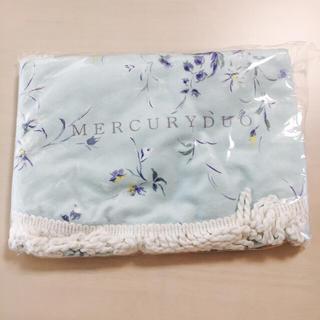 マーキュリーデュオ(MERCURYDUO)の【未使用】MERCURY DUOノベルティー・ラウンド型ビーチタオル(タオル/バス用品)