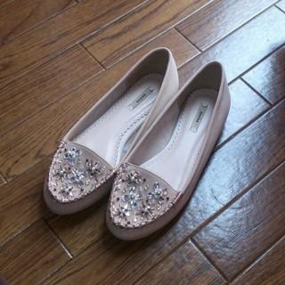 ランダ(RANDA)のぺたんこ靴(ローファー/革靴)