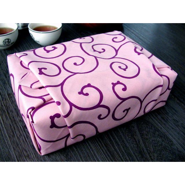 風呂敷 【から草・ピンク】 68cm ふろしき レディースの水着/浴衣(和装小物)の商品写真