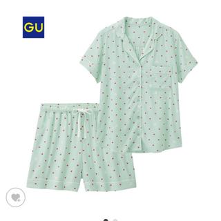 ジーユー(GU)のGU パジャマ ルームウェア ディズニー ライトグリーン(パジャマ)