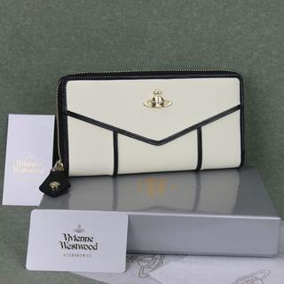 ヴィヴィアンウエストウッド(Vivienne Westwood)のヴィヴィアンウエストウッド長財布55317ホワイト新品正規品(財布)