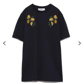 ミラオーウェン(Mila Owen)の刺繍Tシャツ 新品未使用(Tシャツ/カットソー(半袖/袖なし))
