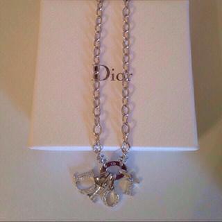 ディオール(Dior)の10月末までお取り置き中(ネックレス)