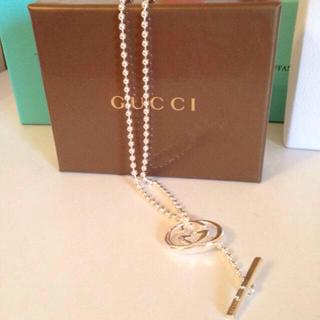 グッチ(Gucci)のGUCCI ロゴ チェーンネックレス(ネックレス)