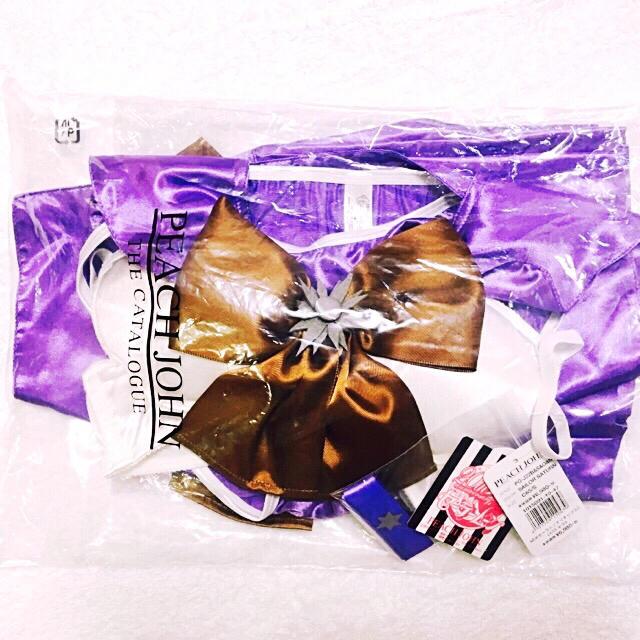 PEACH JOHN(ピーチジョン)のセーラーサターン なりきりブラセット スカート付き レディースの下着/アンダーウェア(ブラ&ショーツセット)の商品写真