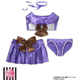 ピーチジョン(PEACH JOHN)のセーラーサターン なりきりブラセット スカート付き(ブラ&ショーツセット)