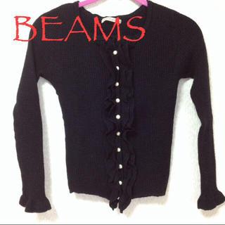 ビームス(BEAMS)のBEAMSワッフル生地カットソー(カットソー(長袖/七分))