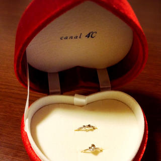 カナルヨンドシー(canal4℃)のカナル4℃ ピンキーリング(リング(指輪))