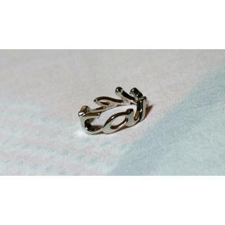 カルティエ(Cartier)の限定 カルティエ シグネチャーイニシャルロゴリング18K WG750 47 5号(リング(指輪))