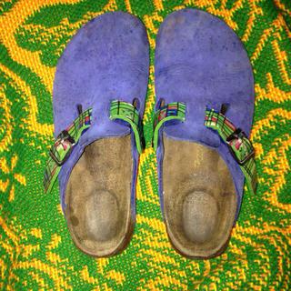 ビルケンシュトック(BIRKENSTOCK)のレア!ビルケンシュトックサボ(ローファー/革靴)